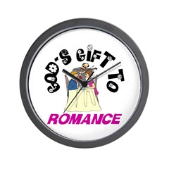 God's Gift to Romance Wall Clock