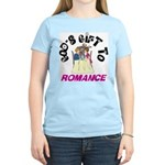 God's Gift to Romance Women's Pink T-Shirt