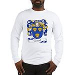Roussel Family Crest Long Sleeve T-Shirt