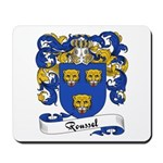 Roussel Family Crest Mousepad