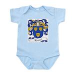 Roussel Family Crest Infant Creeper