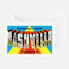 Nashville Tennessee Greetings Greeting Card