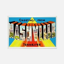 Nashville Tennessee Greetings Rectangle Magnet (10