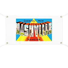 Nashville Tennessee Greetings Banner