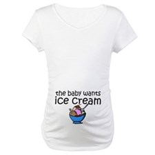 The baby wants ice cream Shirt