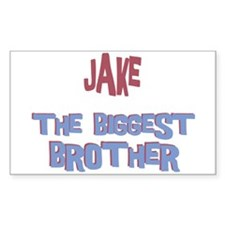 Jake - The Biggest Brother Rectangle Decal