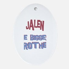 Jalen - The Biggest Brother Oval Ornament