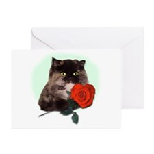 Kitty Rose Greeting Cards (Pk of 10)