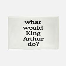 King Arthur Rectangle Magnet