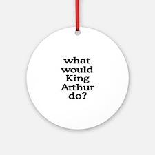King Arthur Ornament (Round)