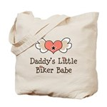 Daddy's Little Biker Babe Tote Bag