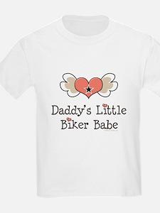 Daddy's Little Biker Babe T-Shirt