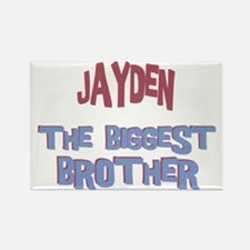 Jayden - The Biggest Brother Rectangle Magnet
