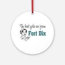 Best Girls Fort Dix Ornament (Round)