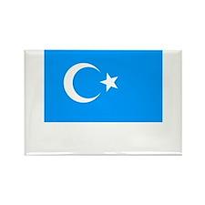 Uighur Flag Rectangle Magnet