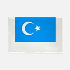 Uighur Flag Rectangle Magnet