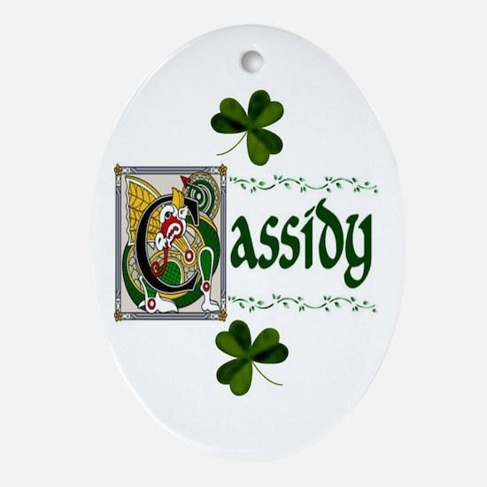 Cassidy Celtic Dragon Ornament