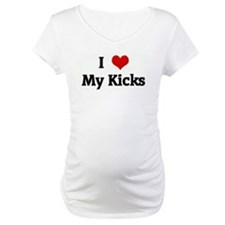 I Love My Kicks Shirt