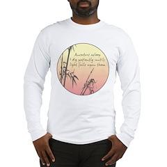 Genealogy Haiku Long Sleeve T-Shirt