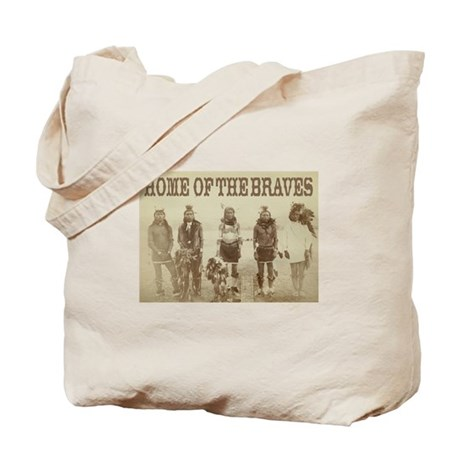 Home of the Braves Tote Bag