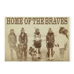 Home of the Braves Postcards (Package of 8)