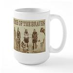 Home of the Braves Large Mug