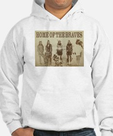 Home of the Braves Hoodie