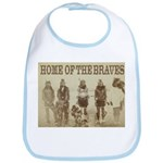 Home of the Braves Bib