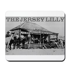 The Jersey Lilly Mousepad