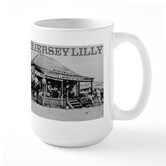 The Jersey Lilly Large Mug