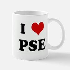 I Love PSE Mug
