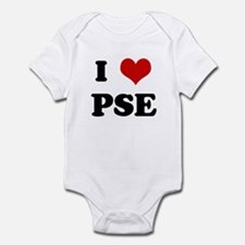 I Love PSE Infant Bodysuit