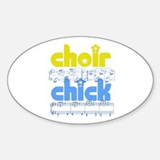 Choir Chick Decal