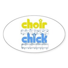 Choir Chick Stickers