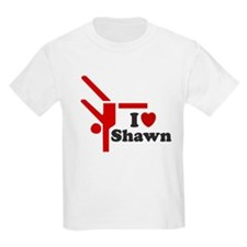 I LOVE SHAWN SHIRT TEE SHIRT T-Shirt