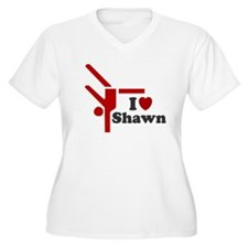 I LOVE SHAWN SHIRT TEE SHIRT T-Shirt