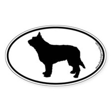 Berger Picard SILHOUETTE Oval Decal