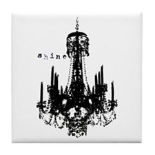 CHANDELIER Tile Coaster