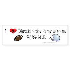 puggle Bumper Bumper Sticker