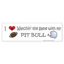 pit bull Bumper Bumper Sticker