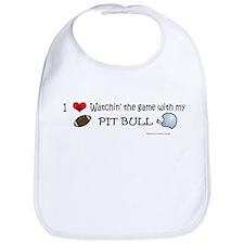 pit bull Bib