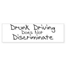 Drunk Driving Bumper Bumper Sticker
