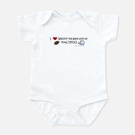 maltipoo Infant Bodysuit