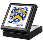 Seguin Family Crest Keepsake Box