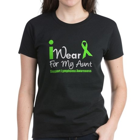 Lymphoma (Aunt) Women's Dark T-Shirt