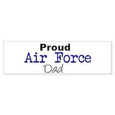 Proud Air Force Dad Bumper Bumper Sticker