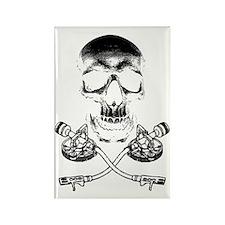 Skull & Crosstones Rectangle Magnet