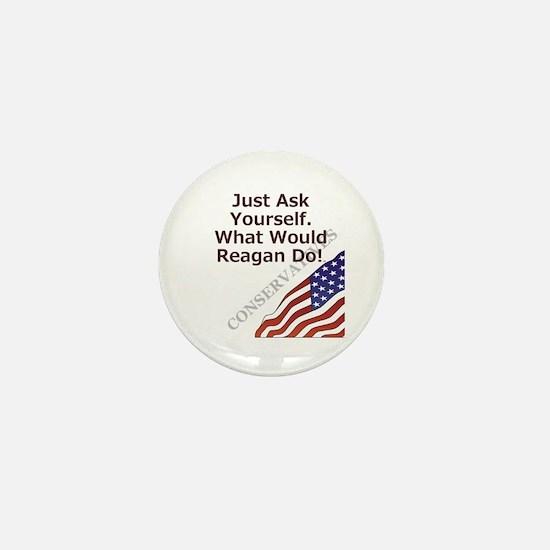 Conservative Mantra Mini Button