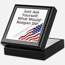 Conservative Mantra Keepsake Box