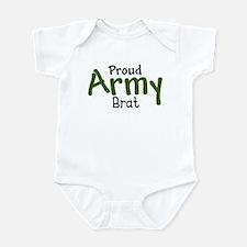 Proud Army Brat Infant Bodysuit